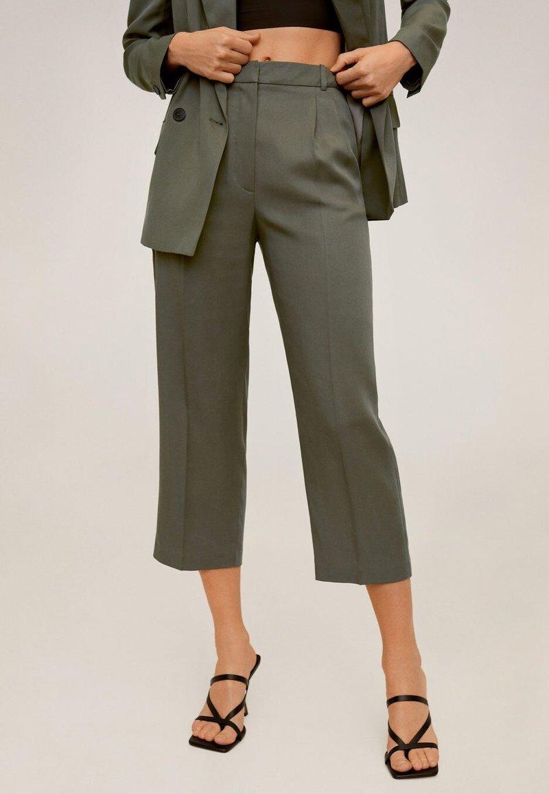 Mango - MONACO - Trousers - khaki