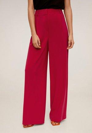 Pantalon classique - fuchsia