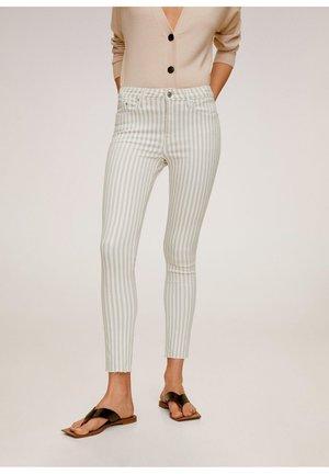 ISA - Jeans Skinny Fit - open beige