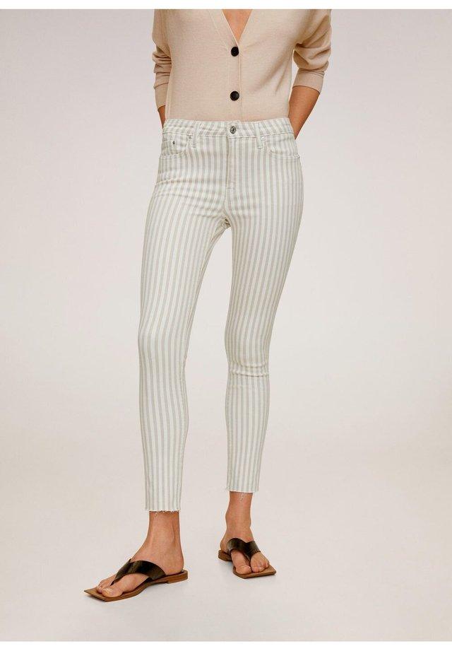 ISA - Jeansy Skinny Fit - open beige