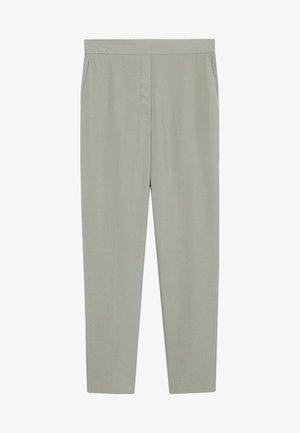 Spodnie materiałowe - pastellgrün