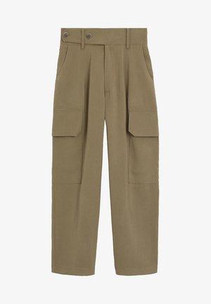 HAILEY - Pantalon classique - khaki