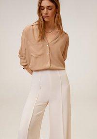 Mango - JUSTIO-I - Trousers - beige - 3