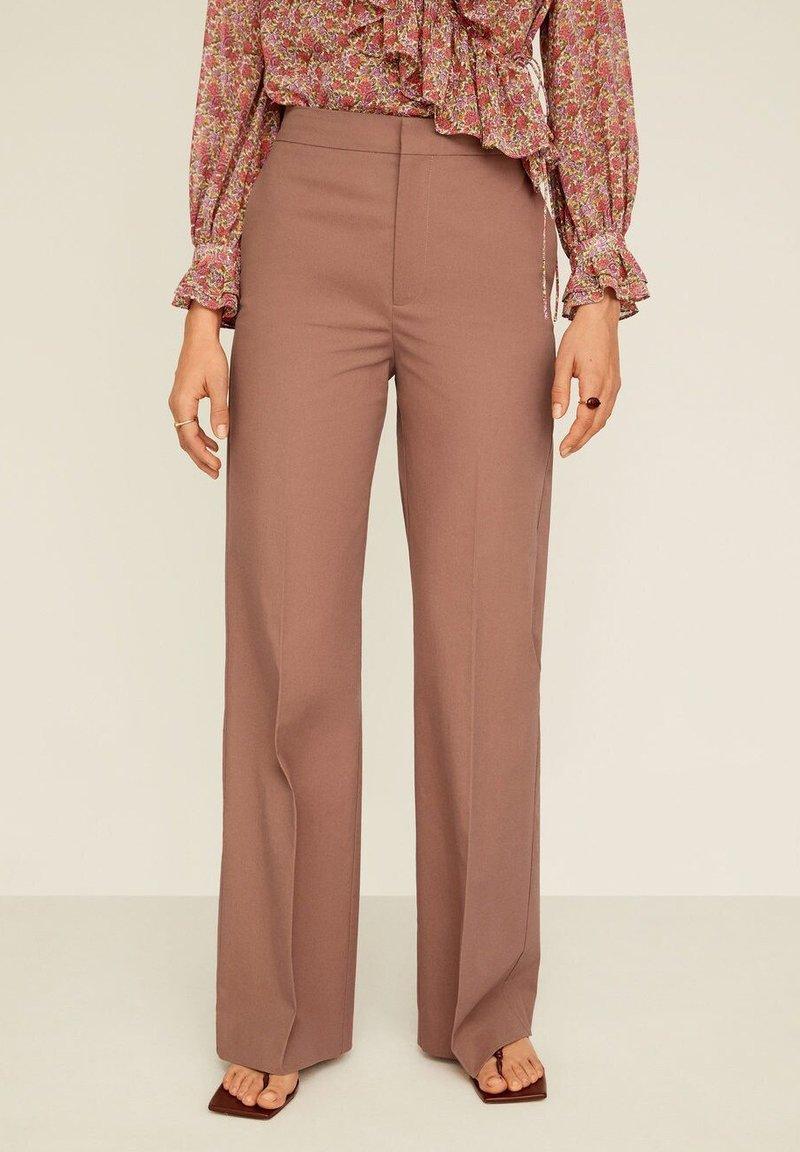 Mango - SALLY - Pantalon classique - rosa