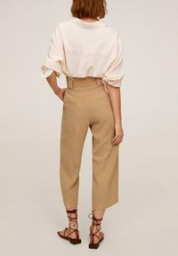 Mango - LOL - Trousers - mittelbraun - 2