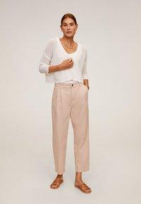 Mango - RELAX - Pantalon classique - rosa - 1