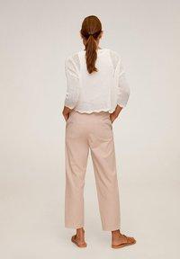 Mango - RELAX - Pantalon classique - rosa - 2