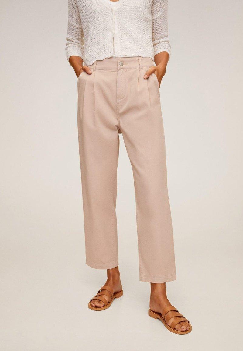 Mango - RELAX - Pantalon classique - rosa