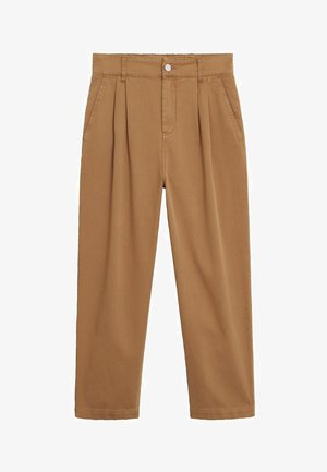 RELAX - Trousers - mittelbraun