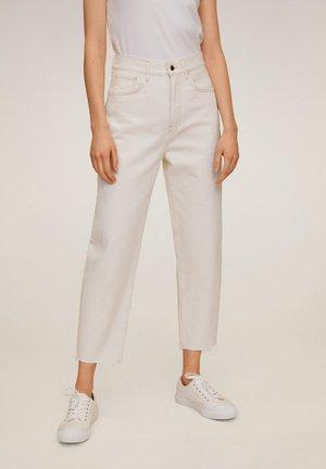VILLAGE - Jeans Straight Leg - ecru