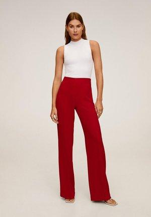 PALACHIN - Pantalon classique - rot