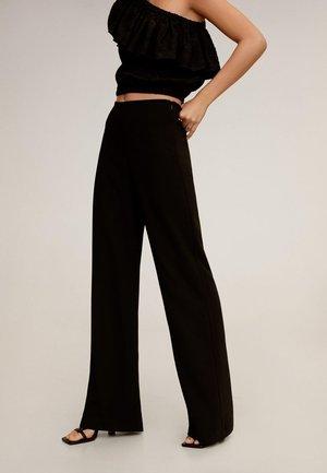 PALACHIN - Spodnie materiałowe - schwarz