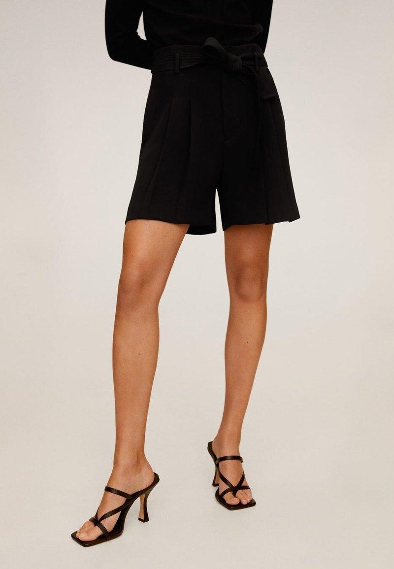 Mango - NUEL - Shorts - black