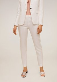 Mango - BORELI - Trousers - weiß - 0