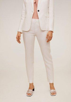 BORELI - Trousers - weiß