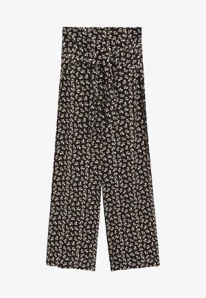 DELHI - Pantalon classique - schwarz
