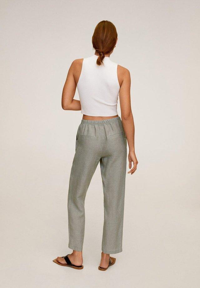 Spodnie materiałowe - groen