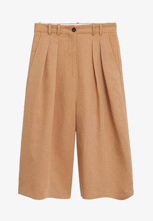 LYNDA - Pantalon classique - mittelbraun