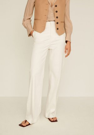 LINDO - Trousers - ecru