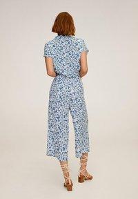 Mango - LIFE - Spodnie materiałowe - blau - 2
