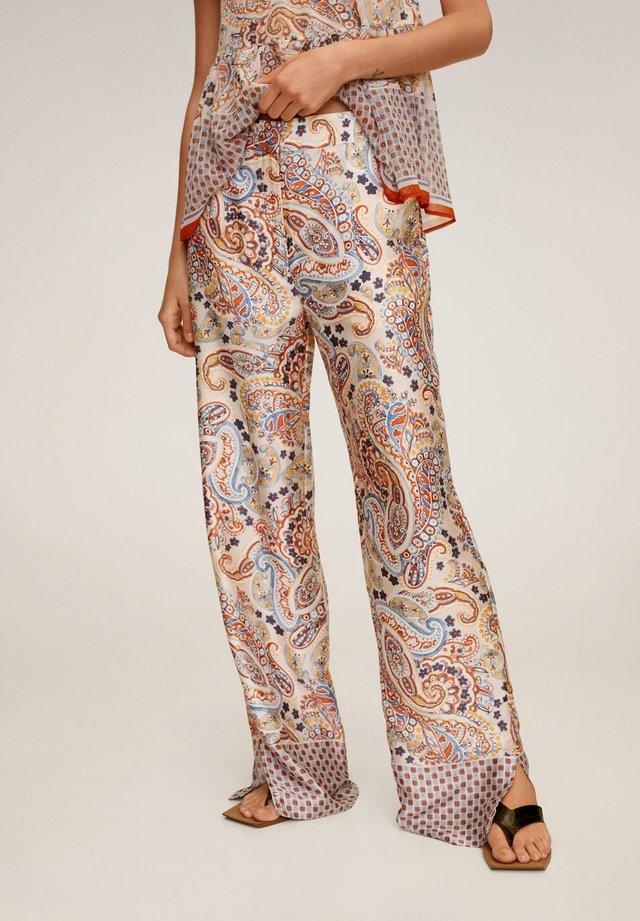WINNIE - Pantalon classique - ecru