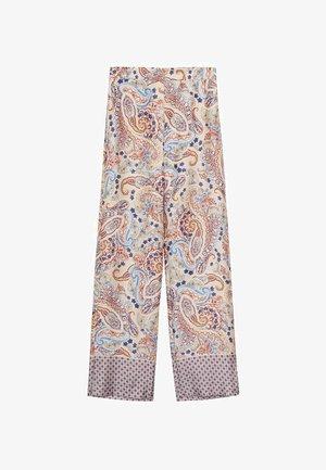 WINNIE - Spodnie materiałowe - ecru
