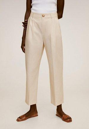FRANCA - Pantalon classique - ecru