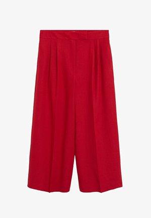 TEMPOLI - Spodnie materiałowe - rot