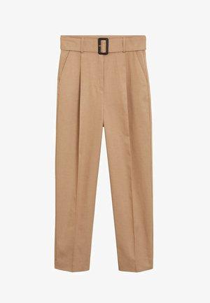 CESI - Spodnie materiałowe - mittelbraun