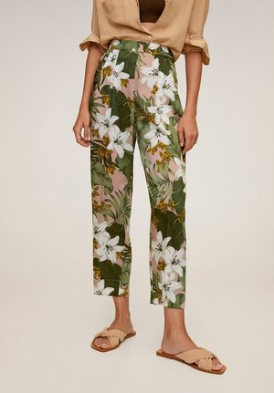 LEAF - Trousers - rosa