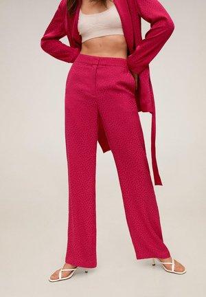 PINKY - Spodnie materiałowe - fuchsia
