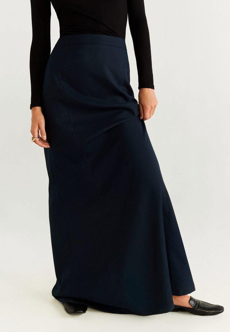 Mango - TINTO - Maxi skirt - royal blue