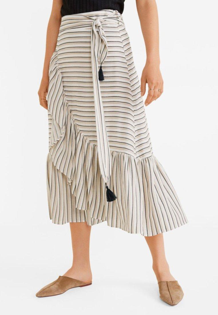 Mango - TRIP - Falda larga - beige