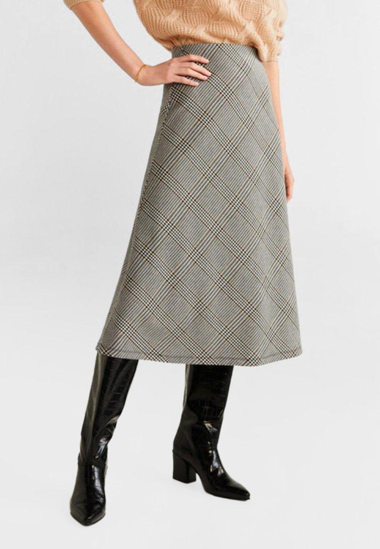 Mango - HARRY - A-line skirt - grey