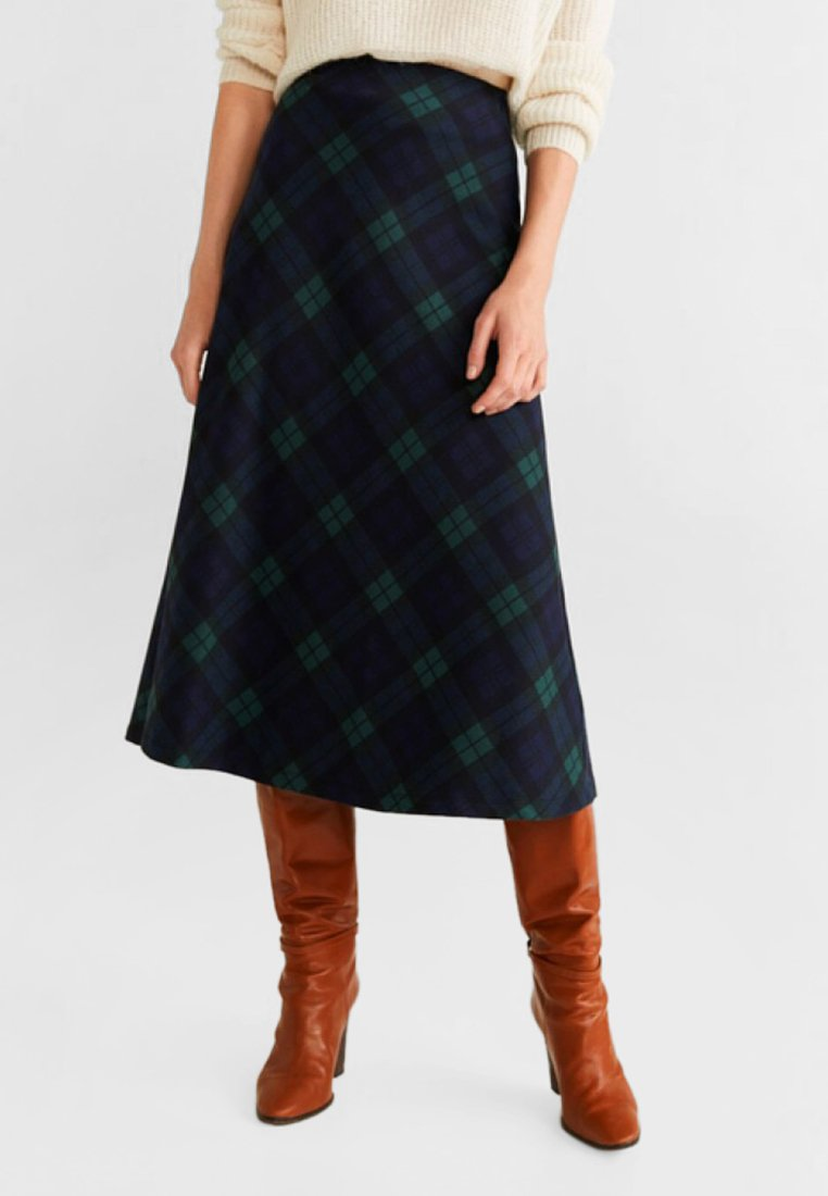 Mango - HARRY - A-line skirt - green