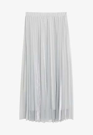 BREEZE - Pleated skirt - silver