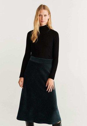 FARRAH - A-snit nederdel/ A-formede nederdele - green