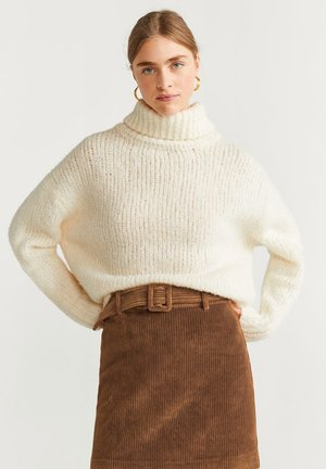 FARRAH - Mini skirts  - medium brown