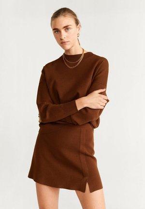 VINTAGE - Spódnica mini - brown