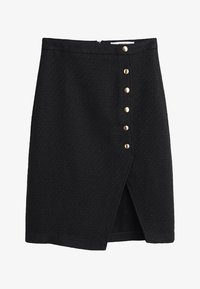 Mango - A-snit nederdel/ A-formede nederdele - black - 3