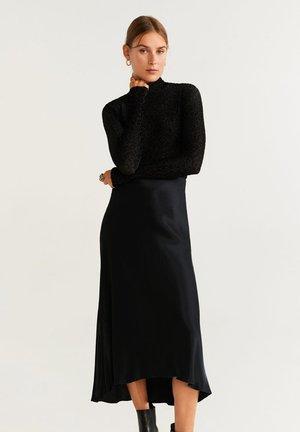 LIL - Jupe longue - black