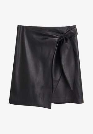 FIRE - Wrap skirt - black