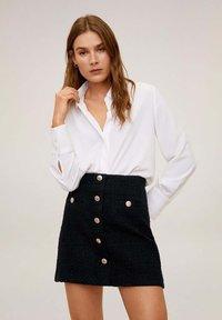 Mango - MONZA - A-line skirt - black - 0