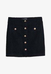 Mango - MONZA - A-line skirt - black - 3