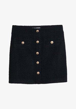 MONZA - A-line skirt - black