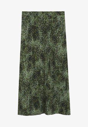 CASCABEL - Jupe trapèze - green