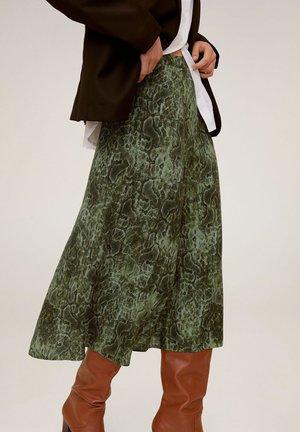 CASCABEL - A-lijn rok - green