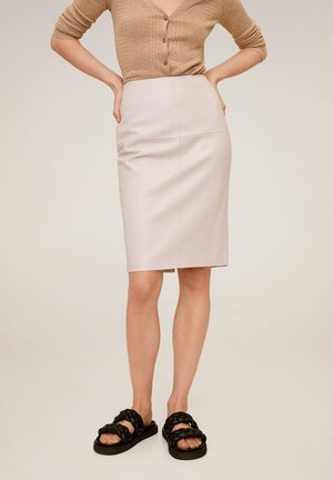 PENCIL - Pencil skirt - nude