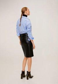 Mango - PENCIL - Spódnica ołówkowa  - black - 2