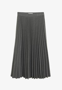 Mango - WOOLY - A-line skirt - grau - 3